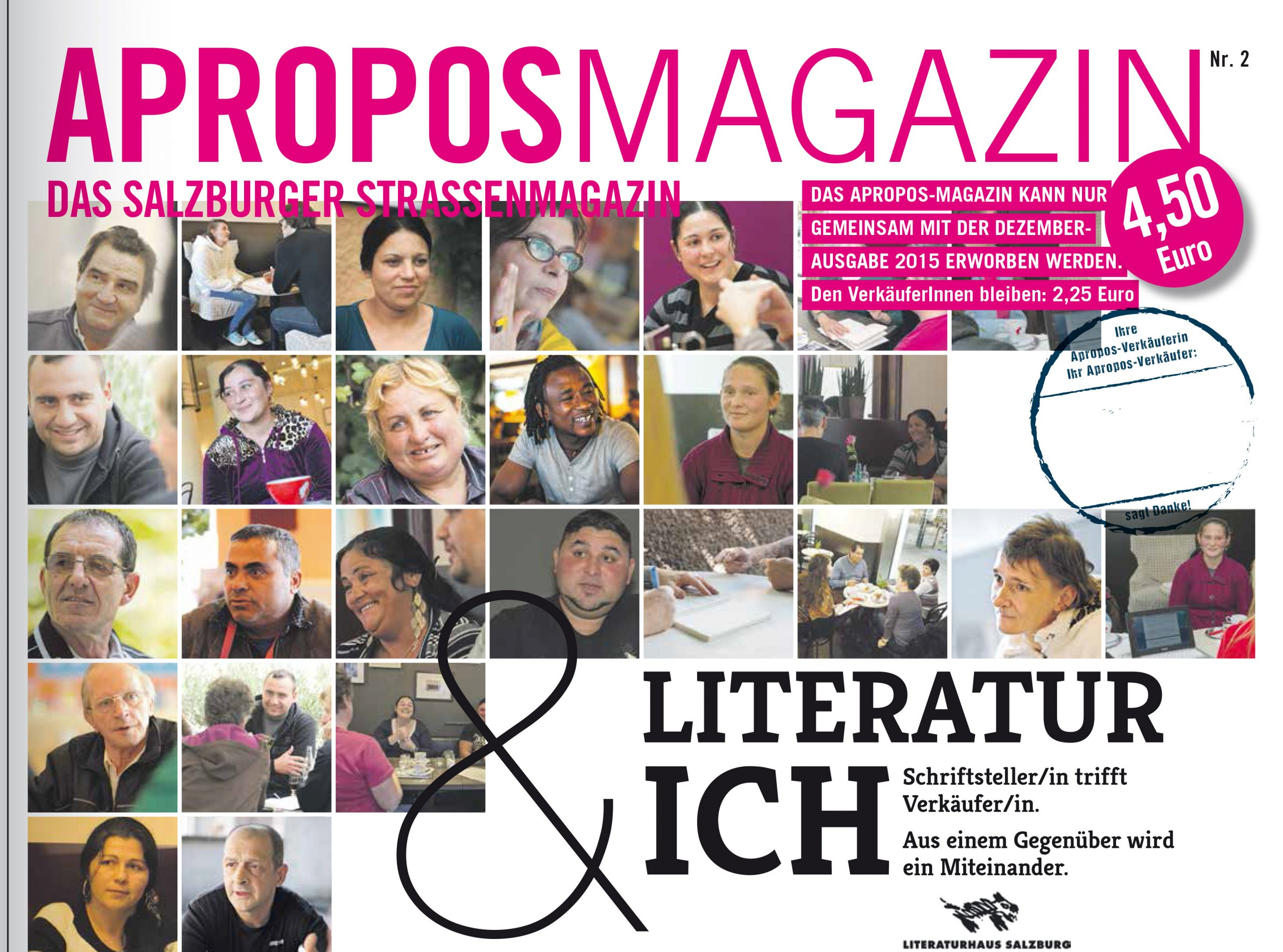 """Sondermagazin """"Literatur & Ich"""""""